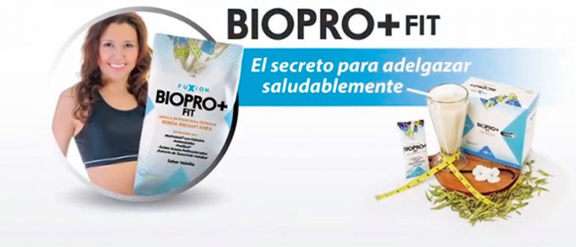 Bajar de peso Biopro Fit Fuxion | Distribuidor Independiente
